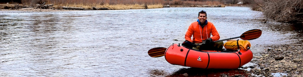 Ryan Jordan - Guided Packrafting Trips on Montana Rivers