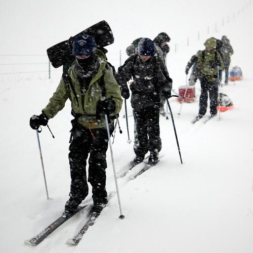 Troop 676 Ski Trekking - Crazy Mountains, Montana