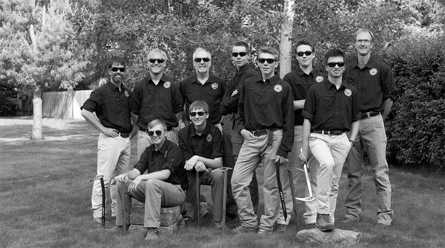 BSA Venturing Crew One of Bozeman, Montana.